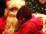 Santa, Local Child at Nemacolin Castle